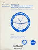 Proceedings of the FAA NASA Symposium on the Continued Airworthiness of Aircraft Structures