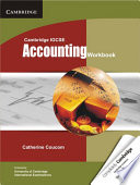 Books - Cambridge IGCSE Accounting Workbook | ISBN 9781107662018