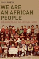 We Are an African People Pdf/ePub eBook