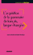 Acquisition de la grammaire du français langue étrangère
