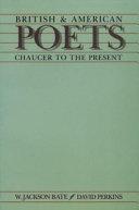 Pdf British & American Poets