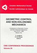 Geometric Control and Non holonomic Mechanics