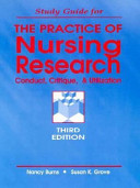 Study Guide For The Practice Of Nursing Research