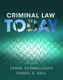Criminal Law Today Book PDF