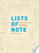 """Lists of Note: An Eclectic Collection Deserving of a Wider Audience"" by Shaun Usher"