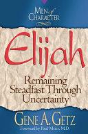 Pdf Men of Character: Elijah Telecharger