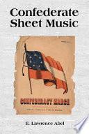 Confederate Sheet Music Book