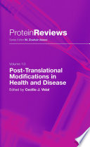 Post Translational Modifications in Health and Disease Book