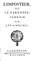 L'imposteur, ou Le Tartuffe,