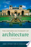 The Oxford Dictionary of Architecture Book