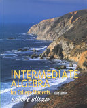 Intermediate Algebra for College Students