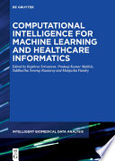 Computational Intelligence For Machine Learning And Healthcare Informatics Book PDF