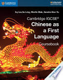 Books - New Cambridge Igcse� Chinese As A First Language Coursebook | ISBN 9781108434935