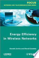 Energy Efficiency in Wireless Networks