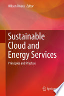 Sustainable Cloud And Energy Services Book PDF