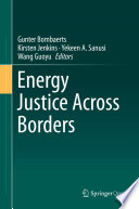 Energy Justice Across Borders