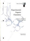 Experimental Organic Chemistry