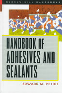 Handbook of Adhesives   Sealants