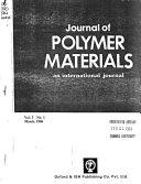 Pdf Journal of Polymer Materials