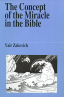The Concept of the Miracle in the Bible