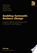 Enabling Systematic Business Change Book