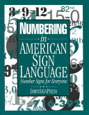Numbering in American Sign Language Book
