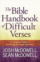 The Bible Handbook of Difficult Verses