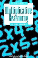 Development of Multiplicative Reasoning in the Learning of Mathematics, The