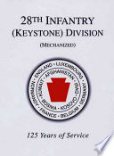 28th Infantry Keystone Division Mechanized