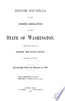 House Journal of the Legislature of the State of Washington