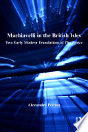 Machiavelli in the British Isles Book