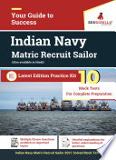 Matric Recruit Sailor  MR  2021   10 Mock Tests for Complete Preparation