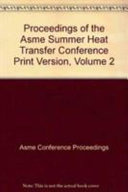 Proceedings of the 2003 ASME Summer Heat Transfer Conference