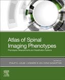 Atlas of Spinal Imaging Book