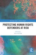 Protecting Human Rights Defenders at Risk Pdf/ePub eBook