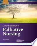"""Oxford Textbook of Palliative Nursing"" by Betty Rolling Ferrell, Judith A. Paice"