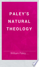Paley s Natural Theology