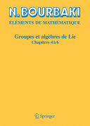Groupes et algèbres de Lie [Pdf/ePub] eBook