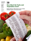How Much Do Fruits And Vegetables Cost  Book PDF