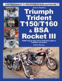 How to Restore Triumph Trident T150 T160   BSA Rocket III
