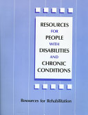 Resources for People with Disabilities and Chronic Conditions