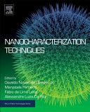 Nanocharacterization Techniques