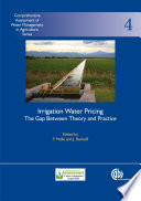 Irrigation Water Pricing Book