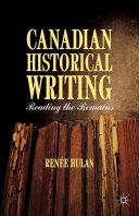 Canadian Historical Writing Pdf/ePub eBook