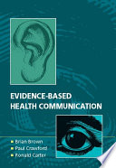 Evidence Based Health Communication Book