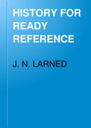 Pdf HISTORY FOR READY REFERENCE