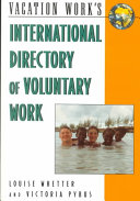 The International Directory of Voluntary Work