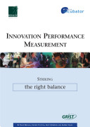 Pdf Innovation performance measurement: Striking the right balance