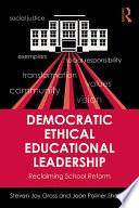 Democratic Ethical Educational Leadership