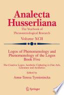 Logos of Phenomenology and Phenomenology of the Logos  Book Five